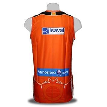 Luanvi Camiseta del Valencia Basket de la Liga Endesa. 1ª Equipación. Color Naranja (S): Amazon.es: Deportes y aire libre