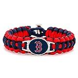 Swamp Fox Premium Style Boston Red Sox Baseball Team Adjustable Paracord Bracelet