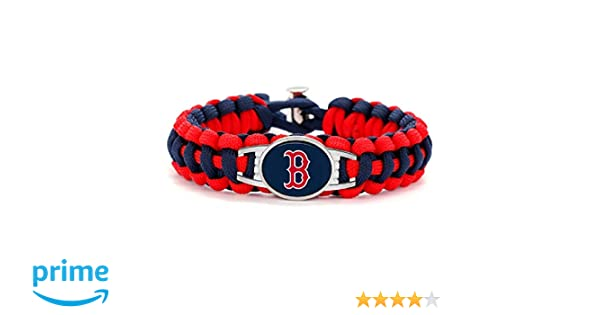 Boston Red Sox Paracord Bracelet Avec Licence Charm
