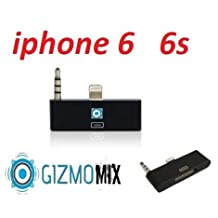 New Black (31 Day Warranty) 8 Pin Music 3.5mm Audio Adapter for Iphone 6 6s Ihome or Bose Speaker Dock audio adapter 30 pin female to 8pin male docking stations