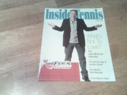 Inside Tennis Magazine, June 2012-The John McEnroe Interview & Jennifer Capriati