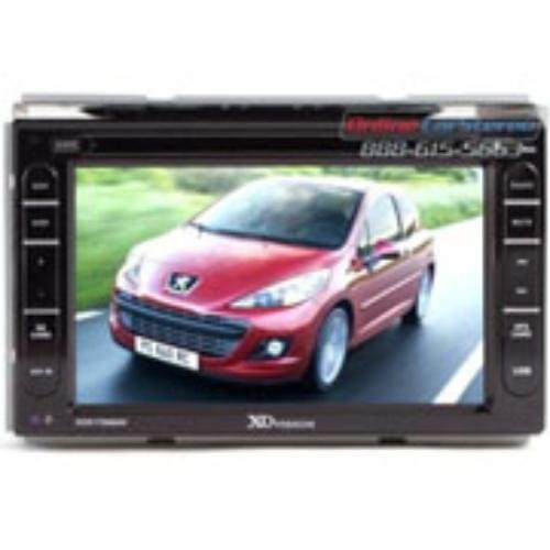 XO Vision 7'' DDIN Touch Screen Receiver with Built-in Navigation