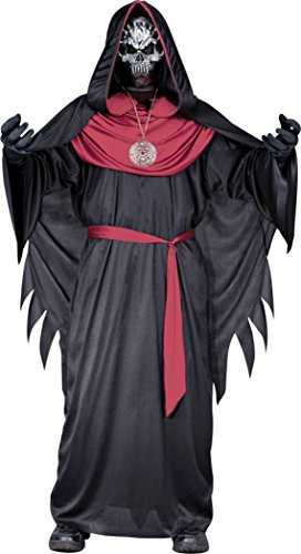 Child Emperor Of Evil Costume (Boys Emperor Of Evil Kids Child Fancy Dress Party Halloween Costume, M (8-10))