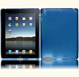 Blue Flex Cover Case for Apple iPad 2 3 4