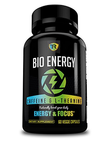 Nootropic Energy Pills and Focus Supplement; Caffeine and L-Theanine – TR Supplements