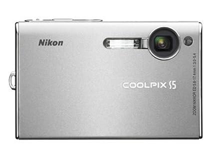 amazon com nikon coolpix s5 6mp digital camera with 3x optical rh amazon com Nikon Coolpix Manual Nikon Coolpix Manual