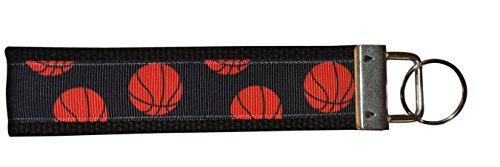 Basketball Keychain- Basketball Gift- Basketball Key FOB, Perfect Basketball Gift For Players & Coaches