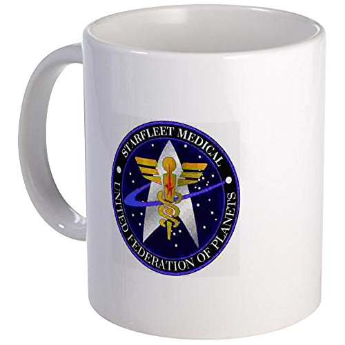 CafePress - Valkyrie Mug - Starfleet Medical - Unique Coffee Mug, Coffee Cup by CafePress