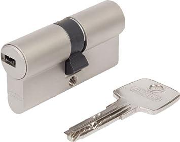 Abus E C 550 - Cerradura cilíndrica (se incluyen 5 llaves, cilindro 30/30): Amazon.es: Bricolaje y herramientas