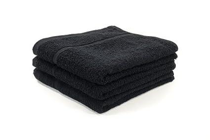 60 x negro BLEACH paños de prueba de peluquería/de salón de toalla/paños