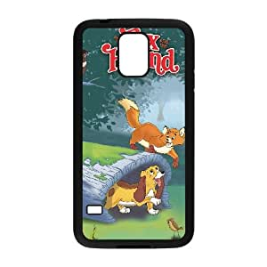 Samsung Galaxy S5 Cell Phone Case Covers Black Fox and the Hound Bmazp