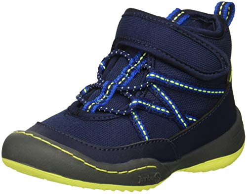 Jambu Boys' Clover-T Fashion Boot, Navy, 6 M US Toddler