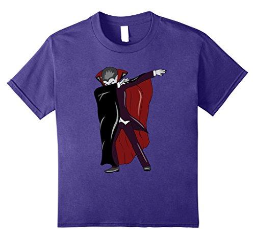 Van Costume Dracula Helsing (Kids Dabbing Vampire T-Shirt - Count Dracula Halloween Costume 10)