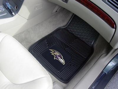 Baltimore Ravens Heavy Duty Vinyl Car Mats