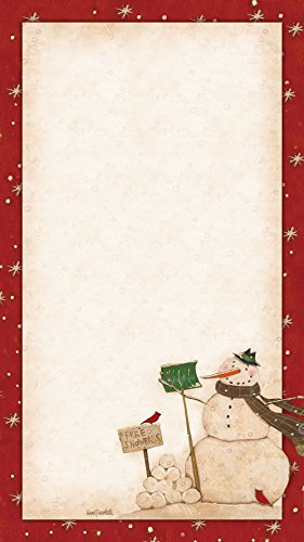 Legacy Publishing Group, Inc. Legacy Tripad List Pad Set, Snow Friend (TPD22083)