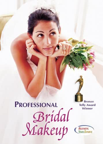 Professional Bridal Makeup Training DVD - Award Winning Makeup Artist Course - Learn to Apply Long Lasting Makeup For Brides - Create Flawless Natural Makeup & Gorgeous Bridal Looks - Learn How to Professionally Apply Makeup Like a Hollywood Makeup Artist