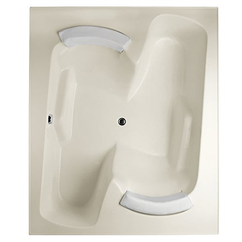 Hydro Systems PEN7260GTA-BIS-WOV.WHI Penthouse Gel Coat Tub Thermal Air System (Drain Included), Biscuit White (Penthouse Gel Coat Tub)