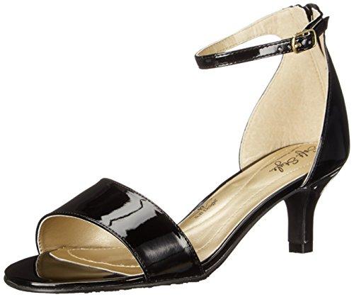 Suave Estilo Por Hush Puppies Madalyn vestido de la sandalia Black Patent