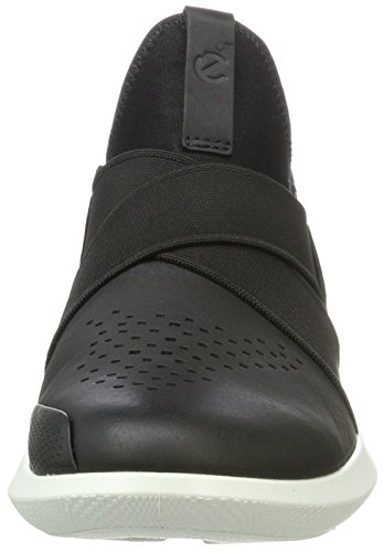 Femme Black Black Ecco Baskets Enfiler Noir Scinapse qXRfxYt