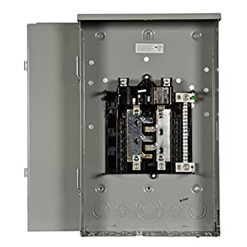Image of Siemens 8 Space, 16, Circuit, 200 Amp, Main Breaker, Outdoor trailer panel Load Center