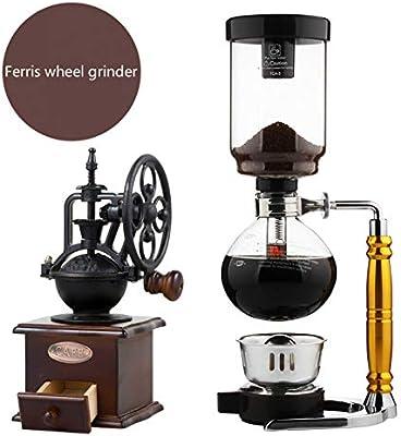 TAOLILI Máquina de café Cafetera Cafetera Sifón Olla de café ...