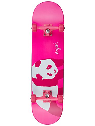 Enjoi Hi. My Name Is Pinky Skateboard Complete,8.0FU,Pink