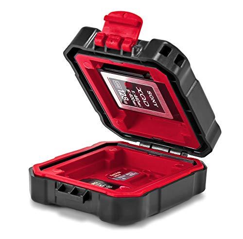 SD ROKO MCC-02 Mini Etui f/ür CF XQD CFast Micro SD Speicherkarten