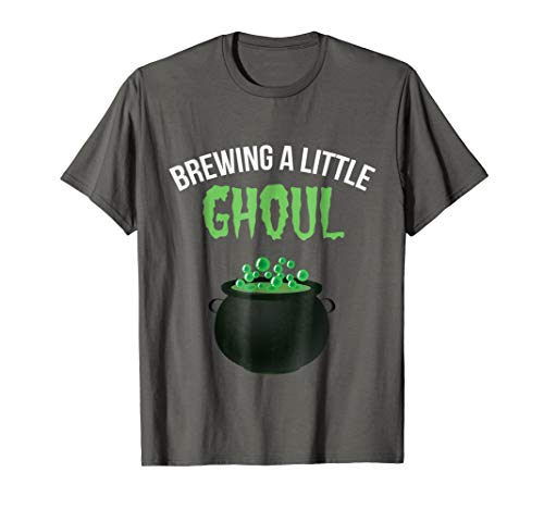 Brewing a Little Ghoul Funny Pregnancy Announcement