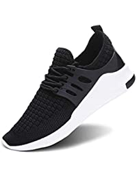 Men's Women's Slip on Sneakers Fashion Lightweight Running Shoes Casual Athletic Shoes for Walking
