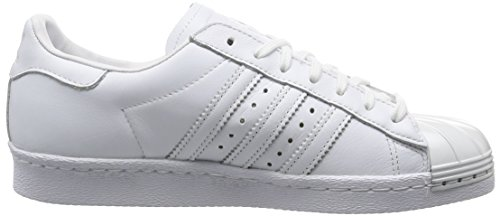 Metal Toe Superstar Blanc 80's Baskets Mode Femme Adidas TBwEPa8qB
