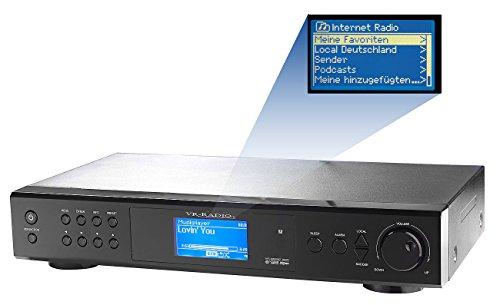 VR-Radio Internetradio-Tuner IRS-410.HiFi mit LAN/ WLAN