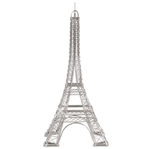 Doodles Eiffel Tower Replica Steel Wire Model Architecture Buildings 12 Inches, Design Ideas