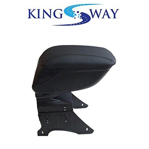 Kingsway Kkmcarmbk00008 Black Armrest for Old Maruti Suzuki Wagonr