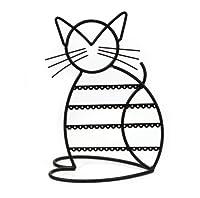 Cat Shape Metal Wire Earring Holder / Earring Tree / Earring Oraganizer / Earring Stand / Earring Display