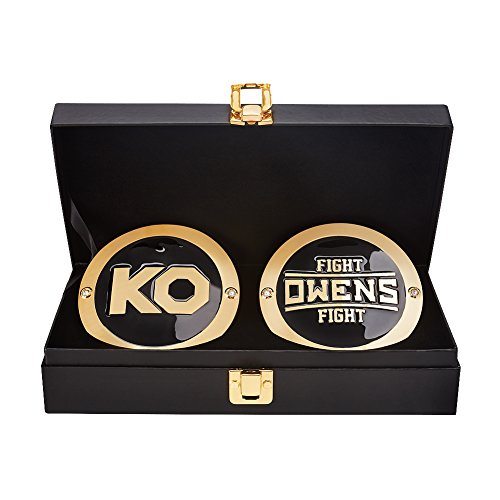 WWE Kevin Owens Championship Replica Title Belt Side Plate Box Set Kevin Owens