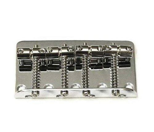 (Fender Standard Series Bass Bridge Assembly - Chrome)