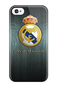 Tpu Fashionable Design Real Madrid Emblem 1024¡Á768 Rugged Case Cover For Iphone 4/4s New