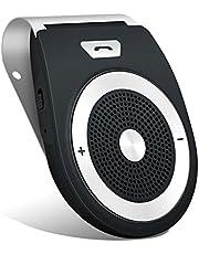 Aigoss Car Kit Vivavoce Bluetooth Ricevitore Audio Telefono di Alta Qualità Bluetooth 4.2 EDR Bluetooth Car Kit Mani Libere + Caricabatteria Da Auto per Telefono