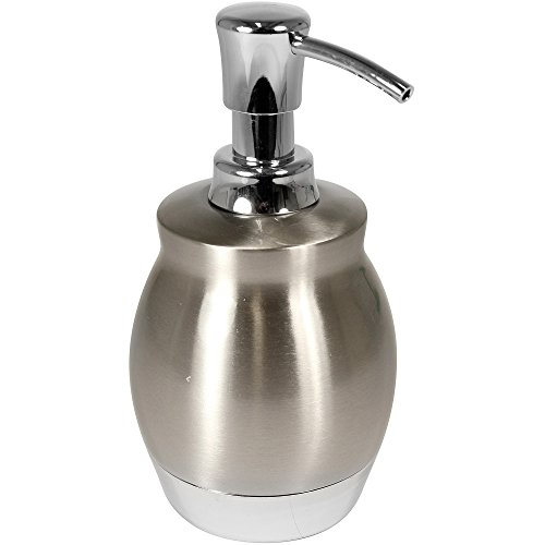 Price comparison product image Better Homes and Gardens Two Tone Metal Accessories Collection - Short Lotion/Soap Pump