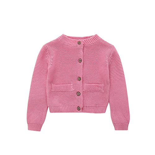 Londony▼ Little Baby Boys Cartoon Train Animal Graphic Button Down Classic Knit Cardigan Sweater Coat Jacket ()
