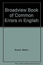 Broadview Book of Common Errors in English