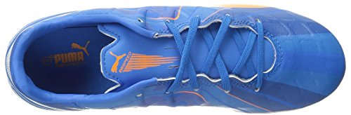 Puma Evospeed 4 zapato H2H Fg Jr fútbol () Orange Clown Fish/El