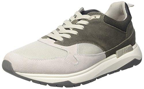 Lumberjack Detroit, Sneaker Uomo Grigio (Lt Grey/Dk Grey)