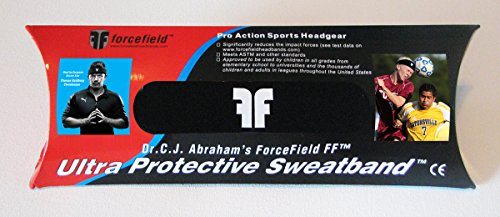 Forcefield Ultra Protective Head Band, Black
