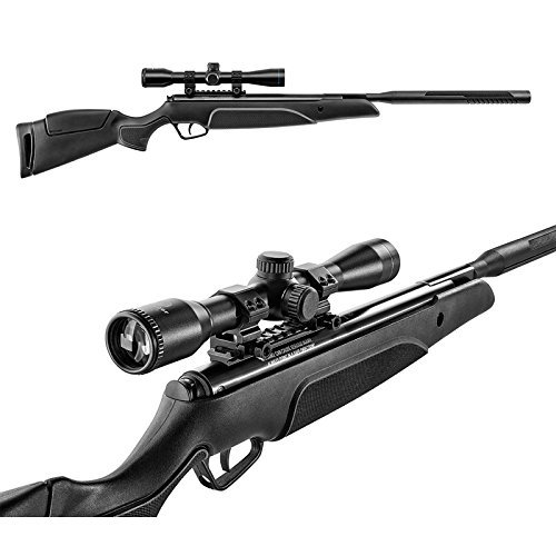 Stoeger A30 Hunting Air Rifle with S2 Suppressor Dual-Stage Noise Reduction System .177 cal pellets