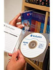 Verbatim BD-R Single Layer 6 -voudige brandsnelheid, Printable Surface Scratchguard Plus, 10 stuks Jewel Case 100 GB BD-R XL