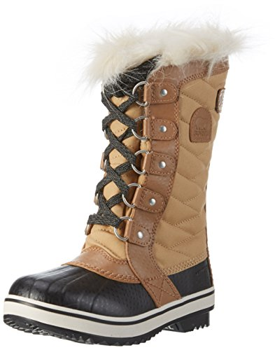 SOREL Girls' Tofino II Waterproof Winter Boot Curry 4 M US by SOREL
