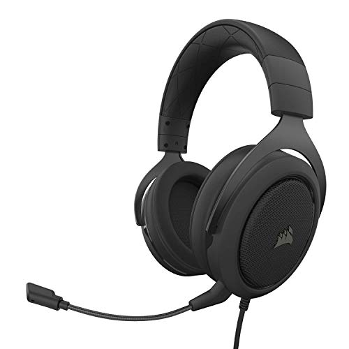 Corsair CA-9011215-NA HS50 Pro - Stereo Gaming Headset - Discord Certified Headphones...