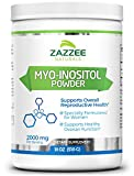 Myo-Inositol Powder | 18 Ounces (510 g) | 340 Servings | 1500 mg per Serving | 100% Pure | Vegetarian/Vegan | PCOS, Ovarian, and Reproductive Support | Promotes Emotional Health and Wellness Review