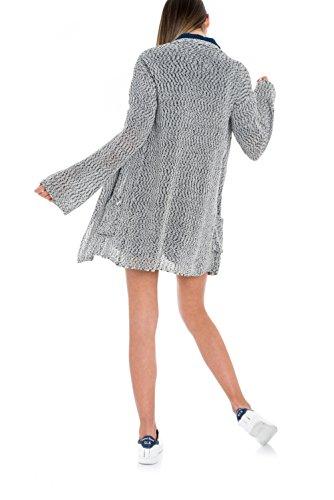 Salsa - Manteau en maille oversize avec des poches - Femme